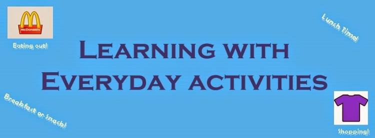 Blog, learning with everyday activities